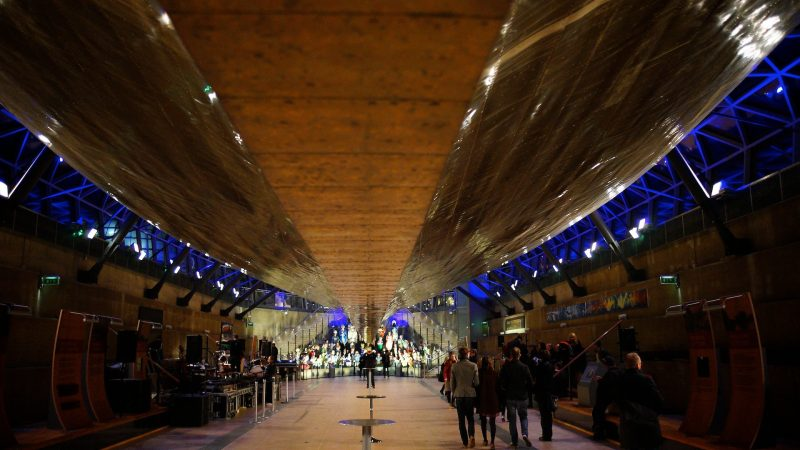 British Sea Power at the Cutty Sark