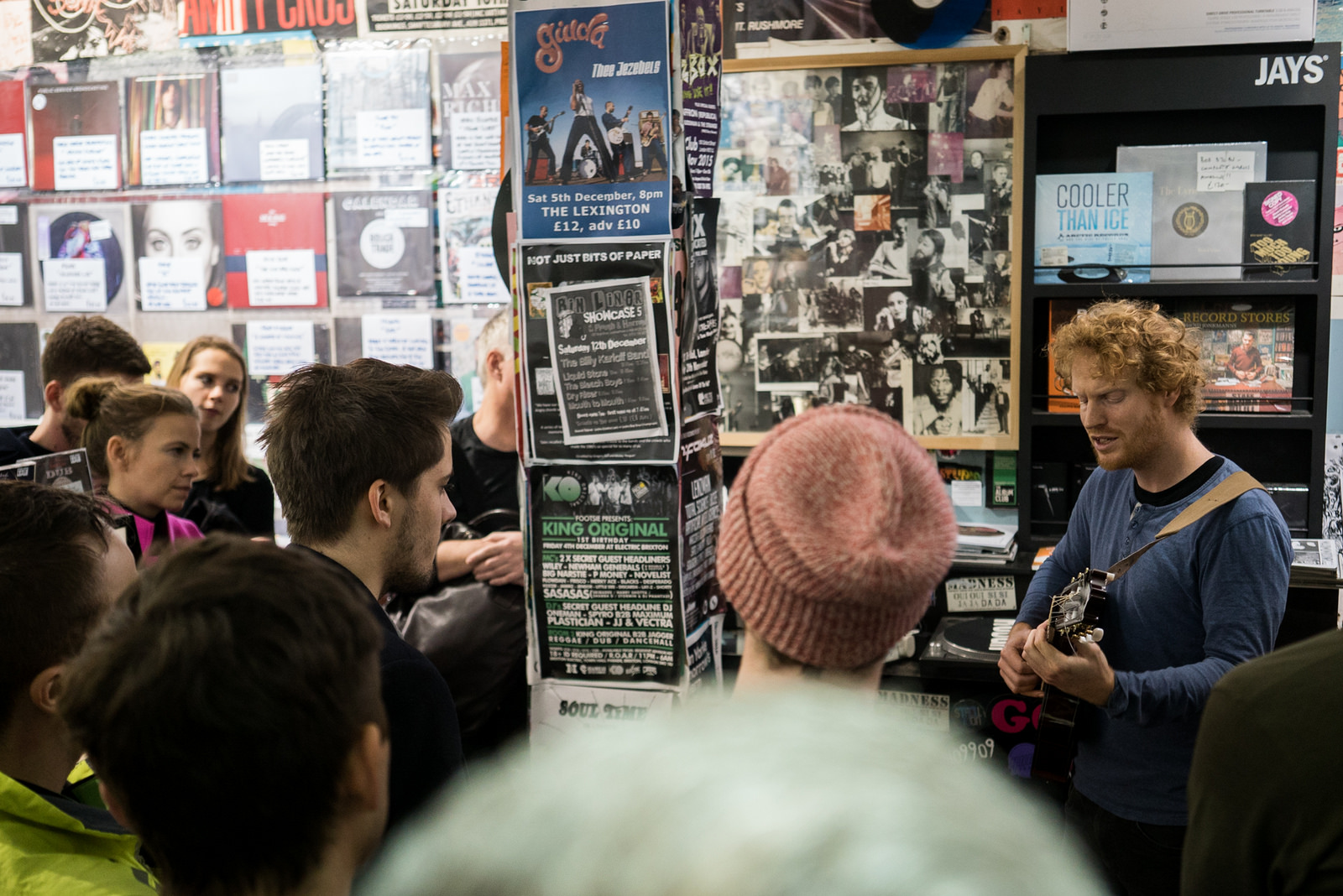 Jono McCleery at Rough Trade West