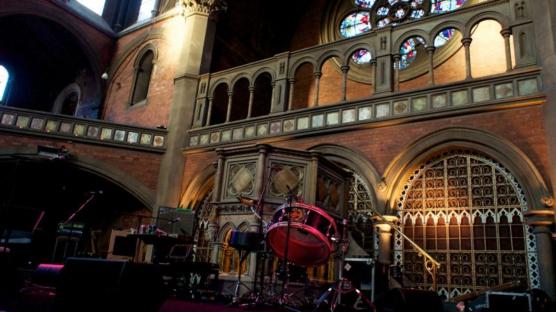 British Sea Power at the Union Chapel, Islington