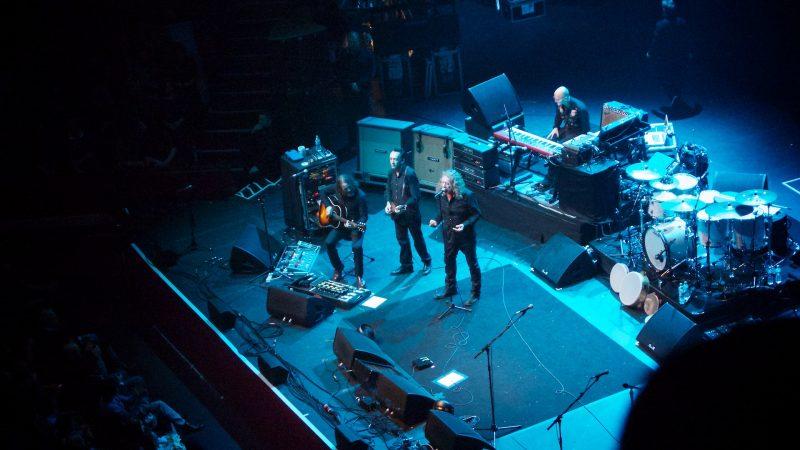 Robert Plant at the Royal Albert Hall